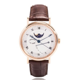 Breguet Watches - Classique Moon Phases 39mm - Rose Gold