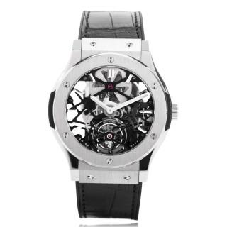 Hublot Watches - Classic Fusion 45mm Skeleton Tourbillon