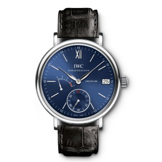 IWC Watches - Portofino Hand-Wound Eight Days - Stainless Steel
